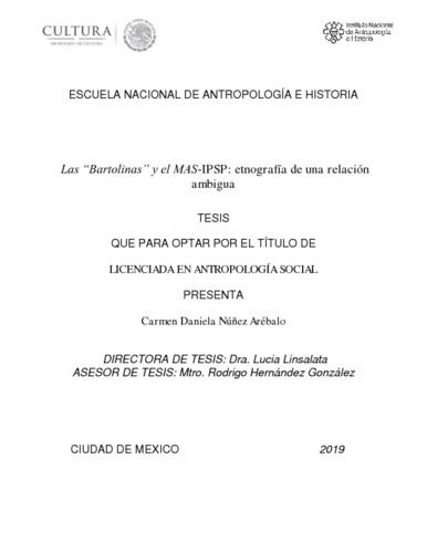 Las Bartolinas y el MAS-IPSP