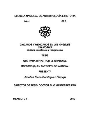 Chicanos y mexicanos en Los Ángeles California