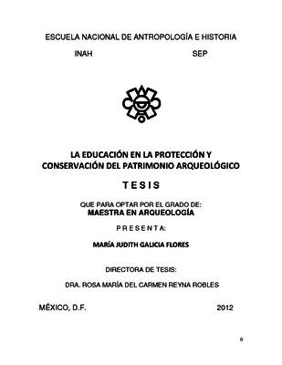 La educación en la protección y conservación del patrimonio arqueológico