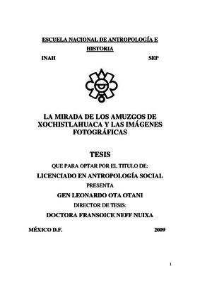 La mirada de los amuzgos de Xochistlahuaca y las imágenes fotográficas