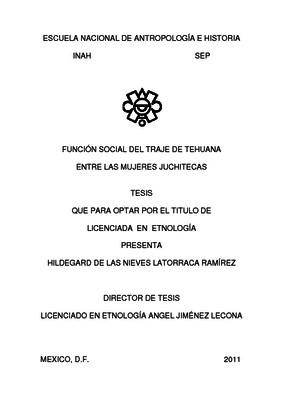 Función social del traje de tehuana entre las mujeres juchitecas