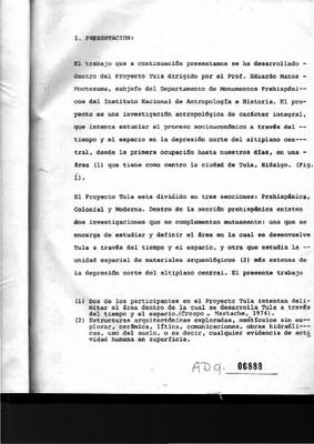 El Estado y la Ciudad: el caso de Tula, Hidalgo