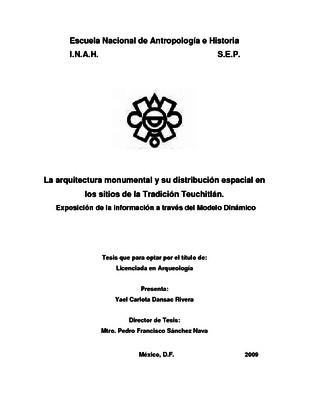 La arquitectura monumental y su distribución espacial en los sitios de la Tradición Teuchitlán