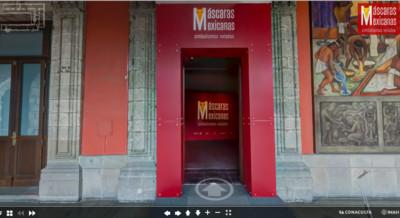 Exposición temporal Máscaras Mexicanas