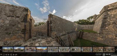 Museo de Arqueología Maya, Fuerte de San Miguel