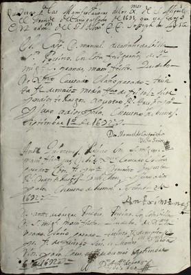 Libro Cabildo 3995 de la sección Administración Pecuniaria serie Colecturia-Diezmos (San Miguel el Grande)