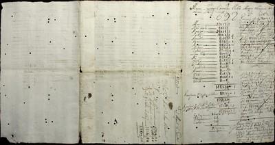 Libro Cabildo 3996 de la sección Administración Pecuniaria serie Colecturia-Diezmos (San Miguel el Grande)