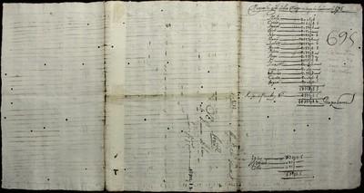 Libro Cabildo 3999 de la sección Administración Pecuniaria serie Colecturia-Diezmos (San Miguel el Grande)