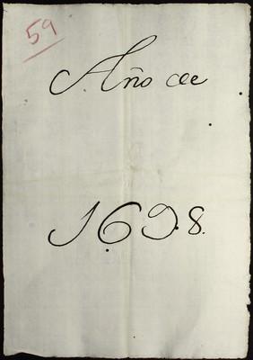 Libro Cabildo 4001 de la sección Administración Pecuniaria serie Colecturia-Diezmos (San Miguel el Grande)