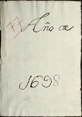 Libro Cabildo 4176 de la sección Administración Pecuniaria serie Colecturia-Diezmos (Zacatula)