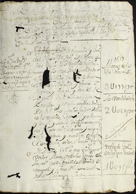 Libro Cabildo 4179 de la sección Administración Pecuniaria serie Colecturia-Diezmos (Zamora)