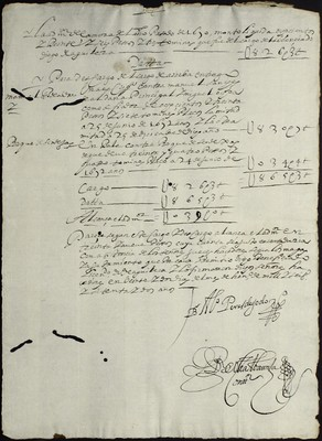 Libro Cabildo 4189 de la sección Administración Pecuniaria serie Colecturia-Diezmos (Zamora)