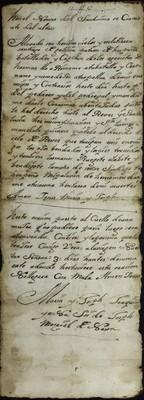 Libro Cabildo 4202 de la sección Administración Pecuniaria serie Colecturia-Diezmos (Zitacuaro)
