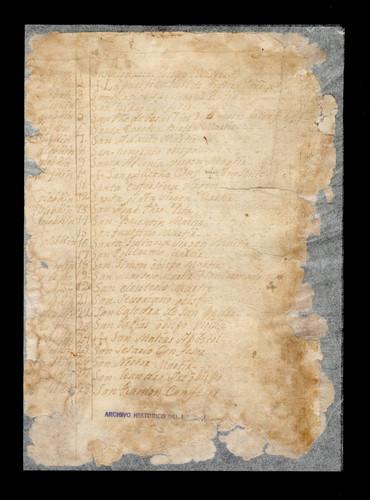 Libro de Chilam Balam de Tekax