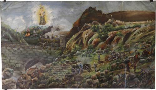 Exvoto del milagro realizado a Adrian Guapo