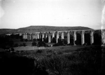 Acueducto de La Cañada, vista parcial