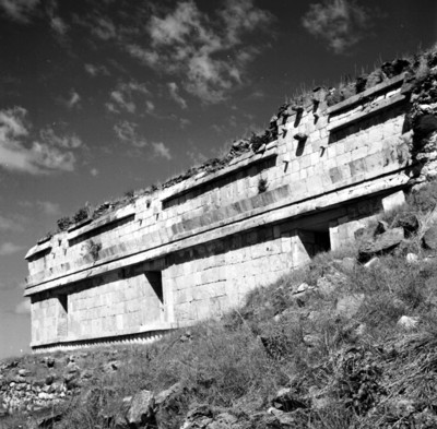 Detalle del Palacio en Sayil