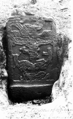Estela 2 de Izapa, Tuxtla Chico, detalle