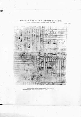 Anales de Cuauhtitlán, publicado en el libro, Documentos verter servir a l'histoire du Mexique, reprografía