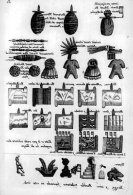 Ilustración de la lámina 29 de la Matrícula de Tributos, reprografía