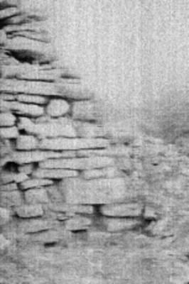 Muro excavado en el Templo el Conde, Palenque
