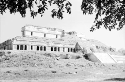 Vista del Palacio, Sayil