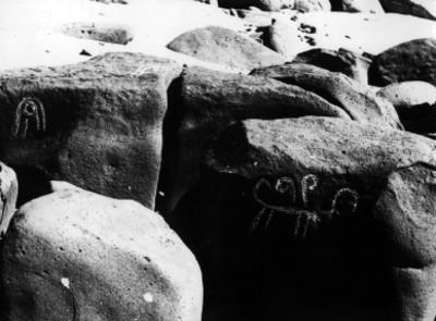 Petroglifos ubicados en las Labradas
