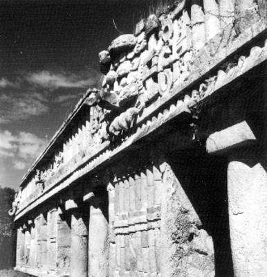 El Palacio de Sayil, frente