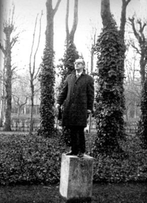 Museo Rodín, Estatua de Origen Mexicano en el jardín Paris