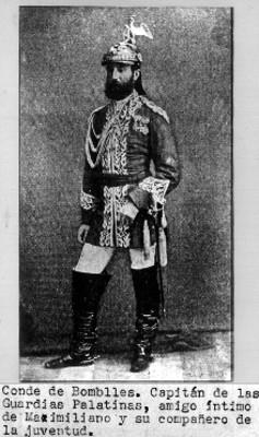 Retrato del Conde de Bombelles, reprografía