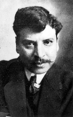 Emiliano Valdez, grabador y pintor, retrato