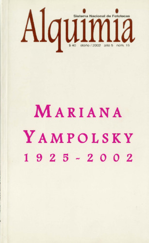 Alquimia Num. 15 (2002) Mariana Yampolsky 1925-2002