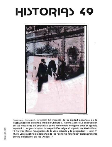 Historias Num. 49 (2001)