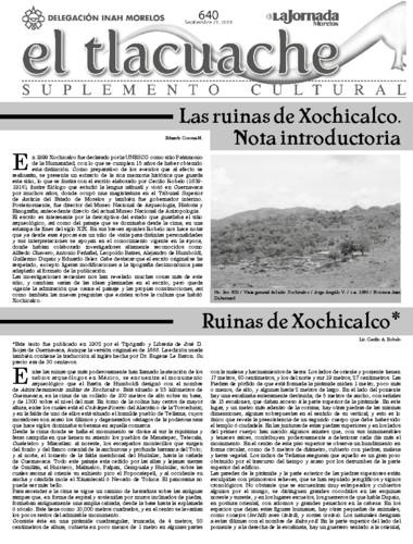 El Tlacuache Núm. 640 (2014)