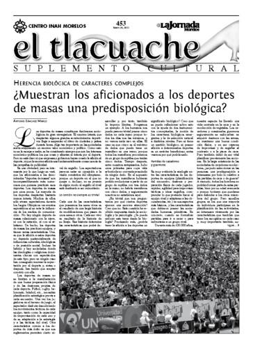 El Tlacuache Núm. 453 (2011)