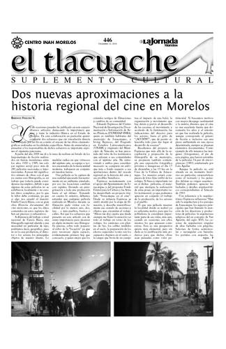 El Tlacuache Núm. 446 (2010)