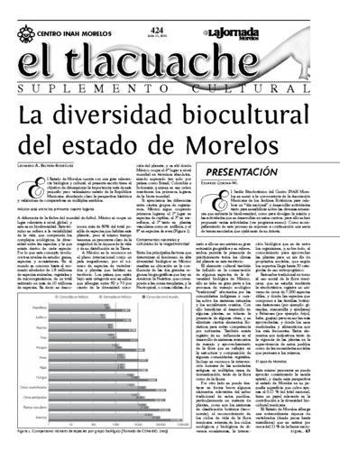 El Tlacuache Núm. 424 (2010)