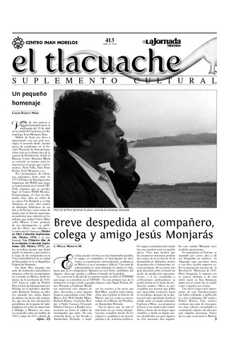 El Tlacuache Núm. 413 (2010)