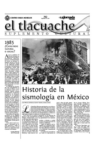 El Tlacuache Núm. 382 (2009)