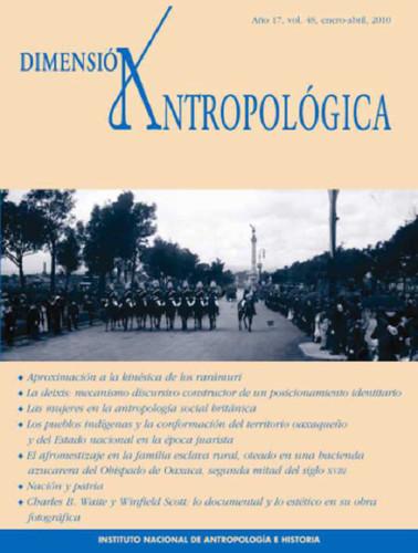 Dimensión Antropológica -  Vol. 48 (2010)