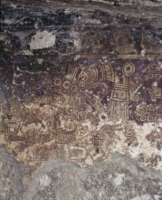 Pintura de la Tumba 1, Mitla