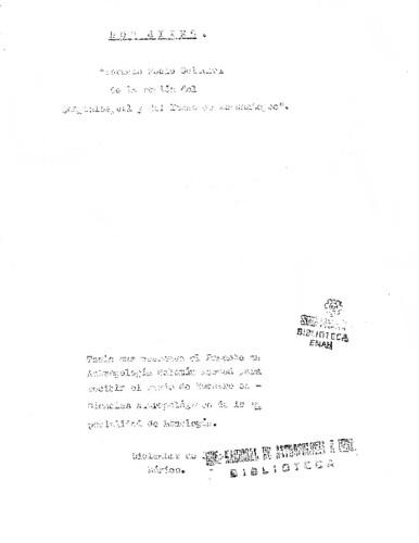 Los mixes: estudio socio cultural de la región del Zempoaltepetl y del Istmo de Tehuantepec