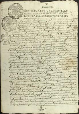 Libro Diocesano 157 de la sección Gobierno serie Mandatos-Edictos
