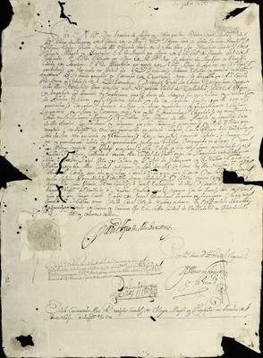 Libro Diocesano 176 de la sección Gobierno serie Mandatos-Edictos