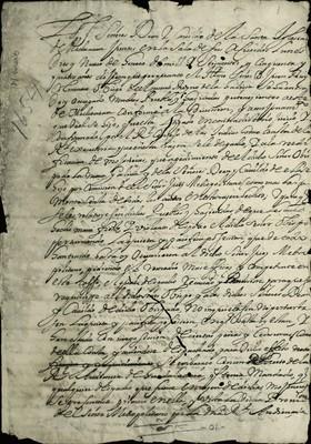 Libro Diocesano 216 de la sección Gobierno serie Mandatos-Notificaciones