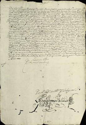 Libro Diocesano 220 de la sección Gobierno serie Mandatos-Notificaciones