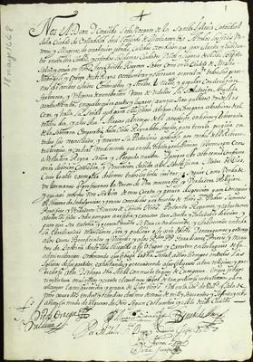Libro Diocesano 224 de la sección Gobierno serie Mandatos-Notificaciones