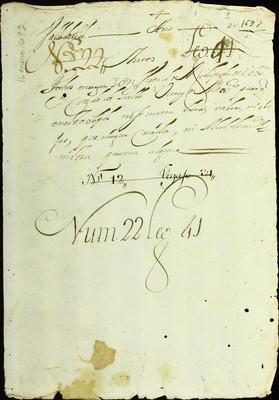 Libro Diocesano 231 de la sección Gobierno serie Mandatos-Notificaciones