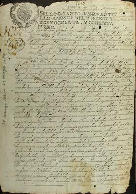 Libro Diocesano 347 de la sección Gobierno serie Parroquias-Solicitudes