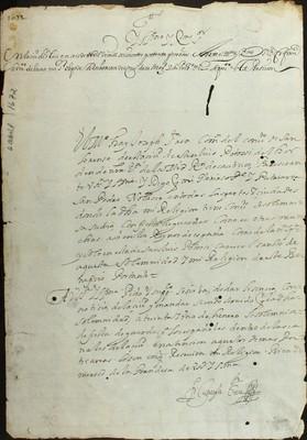 Libro Diocesano 464 de la sección Gobierno serie Religiosos-Mercedarios